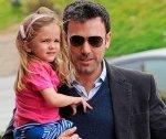 Бен Аффлек спас дочь от папарацци