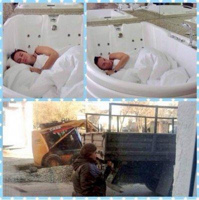Елена Ваенга предпочитает сон в ванной