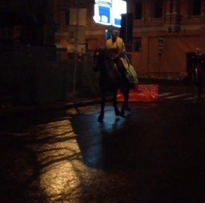 Ночные скачки по улицам Москвы от Анастасии Волочковой