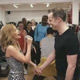 Кайли Миноуг выступила в лондонском фитнес-центре