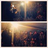 Певица Эрика навестила солдат воинской части Херсонской области