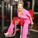 Лена Ленина стремится к красоте и здоровью через спорт