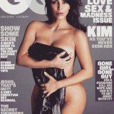 Ким Кардашьян - впервые на обложке мужского журнала