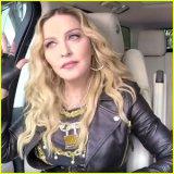 ELLE   Мадонна спела караоке в машине